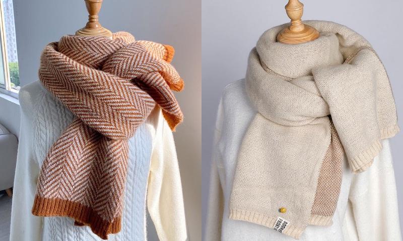 11元淘寶圍巾推薦:秋冬季韓版百搭可愛學生圍巾
